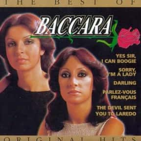 Baccara is listed (or ranked) 9 on the list The Best Euro Disco Groups/Artists