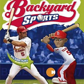 Backyard Baseball 2007 is listed (or ranked) 23 on the list List of Gamecube Games