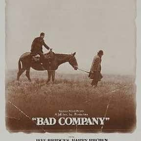 Bad Company is listed (or ranked) 19 on the list The Best Western Movies on Amazon Prime