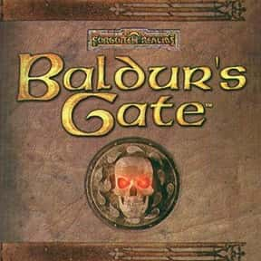 Baldur's Gate is listed (or ranked) 25 on the list List of All Role-playing Games