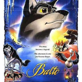 Balto is listed (or ranked) 22 on the list The Best '90s Cartoon Movies