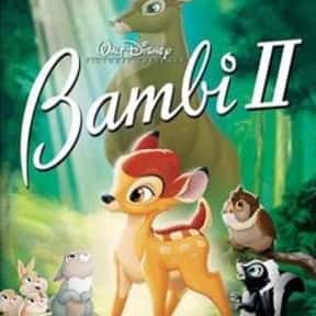 Bambi II is listed (or ranked) 20 on the list The Best Disney Movies Starring Animals