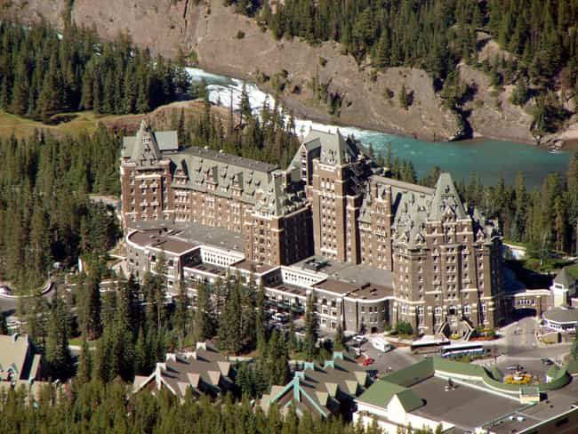 Banff Springs Hotel is listed (or ranked) 2 on the list Famous Scottish baronial style buildings