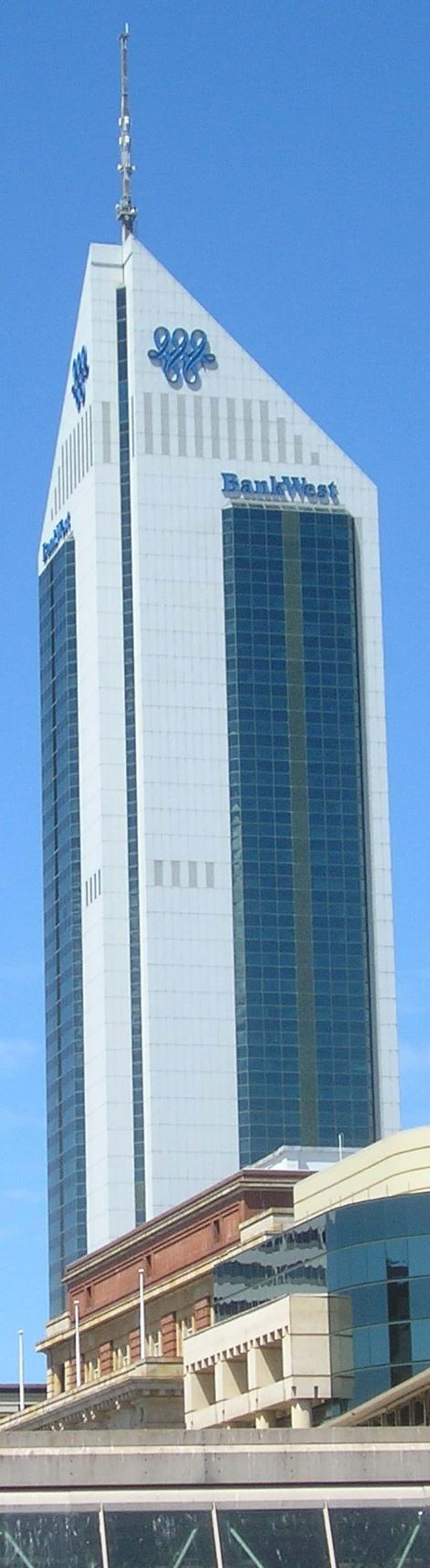 108 St Georges Terrace is listed (or ranked) 2 on the list List of Famous Perth Buildings & Structures