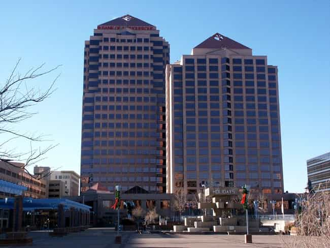 Albuquerque Plaza is listed (or ranked) 4 on the list List of Famous Albuquerque Buildings & Structures