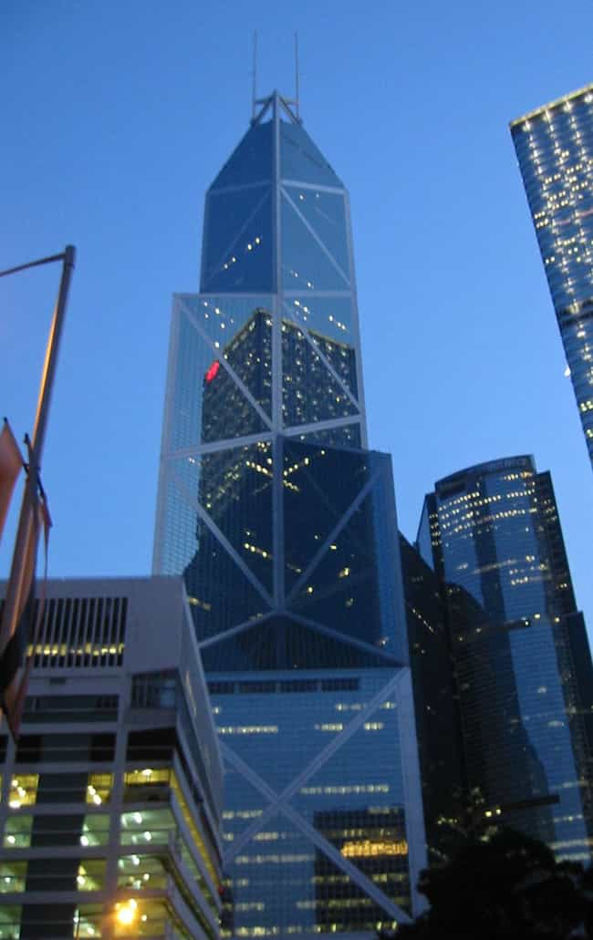 Bank of China Tower is listed (or ranked) 2 on the list List of I. M. Pei Architecture