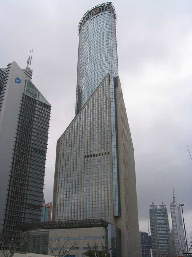 Bank of China Tower, Sha... is listed (or ranked) 3 on the list List of Famous Shanghai Buildings & Structures