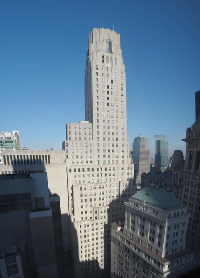 1 Wall Street is listed (or ranked) 3 on the list New York City Architecture: Famous Landmarks and Buildings