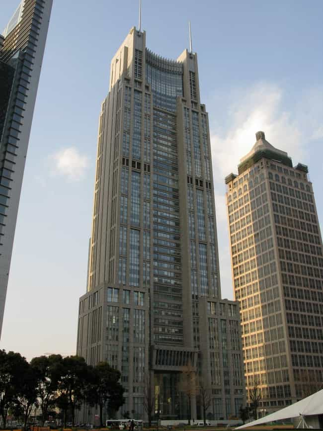 Bank of Shanghai Headquarters is listed (or ranked) 4 on the list List of Famous Shanghai Buildings & Structures