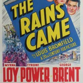 The Rains Came is listed (or ranked) 23 on the list The Best '30s Romance Movies