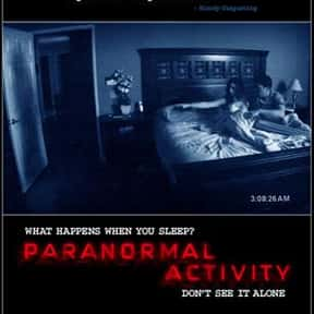 Paranormal Activity 2 is listed (or ranked) 5 on the list The Most Overrated Movies of All Time