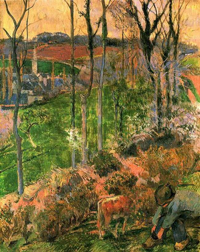 Landscape from Pont-Aven... is listed (or ranked) 2 on the list Famous Landscape Arts by Paul Gauguin