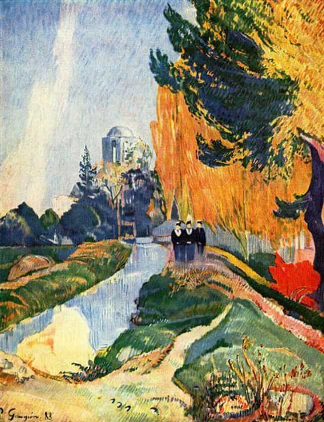Les Alyscamps is listed (or ranked) 4 on the list Famous Landscape Arts by Paul Gauguin