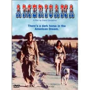 Americana is listed (or ranked) 23 on the list The Best Barbara Hershey Movies