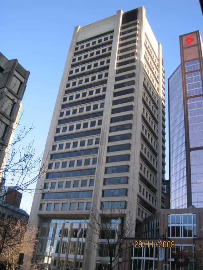 1000 Sherbrooke West is listed (or ranked) 2 on the list List of Famous Montreal Buildings & Structures