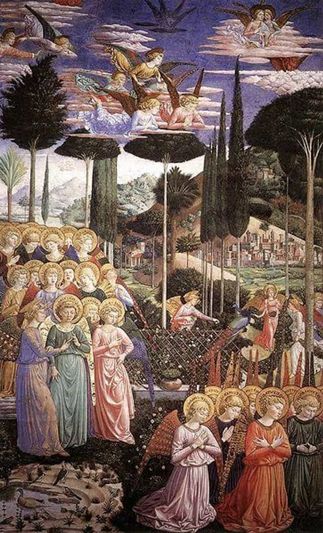 Angels Worshipping is listed (or ranked) 2 on the list Fresco Art: Famous Works