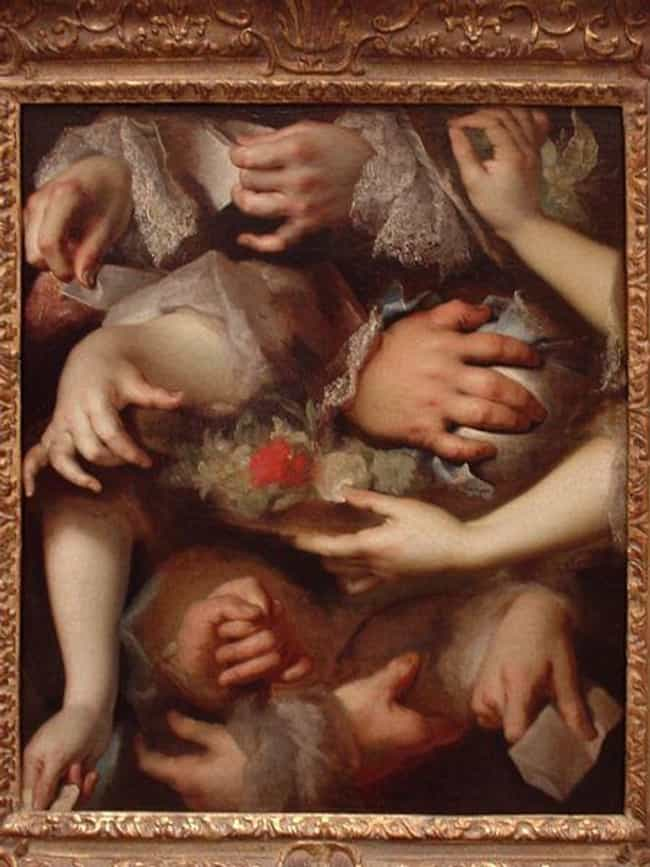 Study of Hands is listed (or ranked) 4 on the list Famous Rococo Paintings