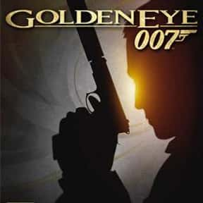GoldenEye 007 Wii is listed (or ranked) 8 on the list The Best James Bond Games