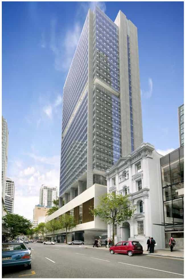 123 Albert Street is listed (or ranked) 2 on the list List of Famous Brisbane Buildings & Structures