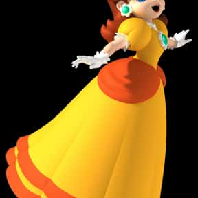 Princess Daisy is listed (or ranked) 13 on the list The Best Wii U Characters