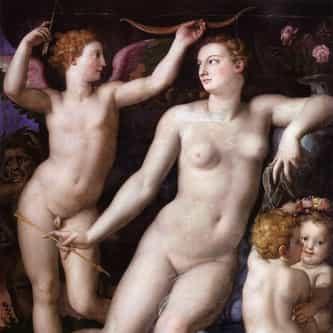Bronzino: Venus, Cupid and Jealousy