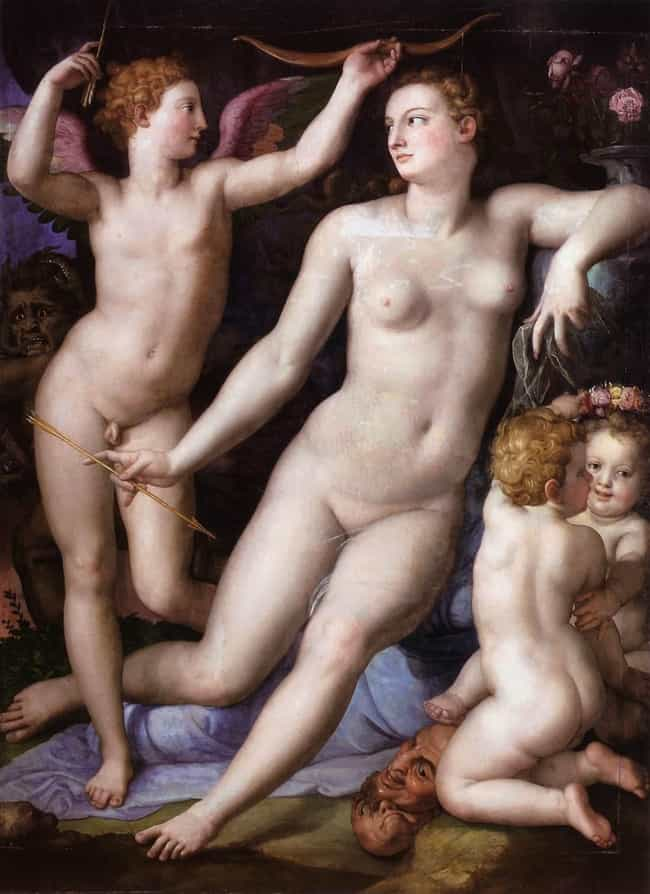 Bronzino: Venus, Cupid a... is listed (or ranked) 4 on the list List of Famous Allegory Paintings