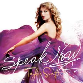 Speak Now [2010] is listed (or ranked) 8 on the list The Greatest Pop Albums Of The 2010s, Ranked