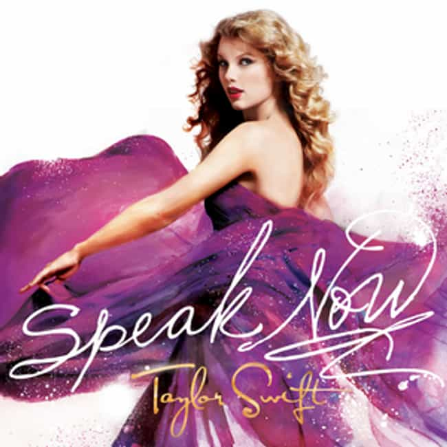 Speak Now is listed (or ranked) 4 on the list When Did Taylor Swift Peak?
