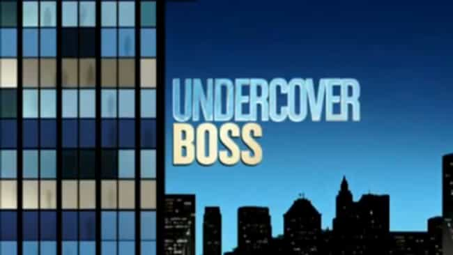 Undercover Boss is listed (or ranked) 7 on the list What to Watch If You Love 'America's Got Talent'