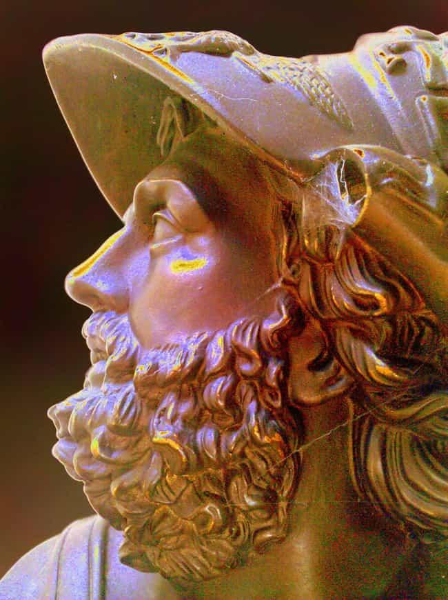 Critias is listed (or ranked) 2 on the list List of Famous Mercenarys