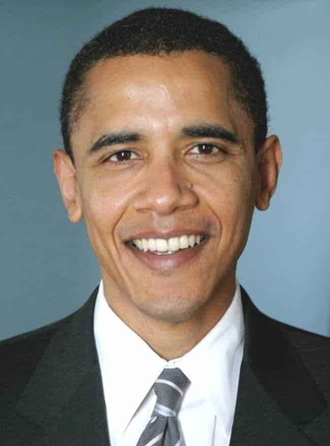 Barack Obama is listed (or ranked) 1 on the list Famous Male Professors
