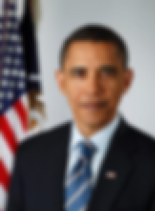 Barack Obama is listed (or ranked) 2 on the list Famous People Who Are Half-Black