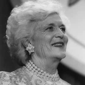 Barbara Bush is listed (or ranked) 3 on the list The Most Loved American First Ladies