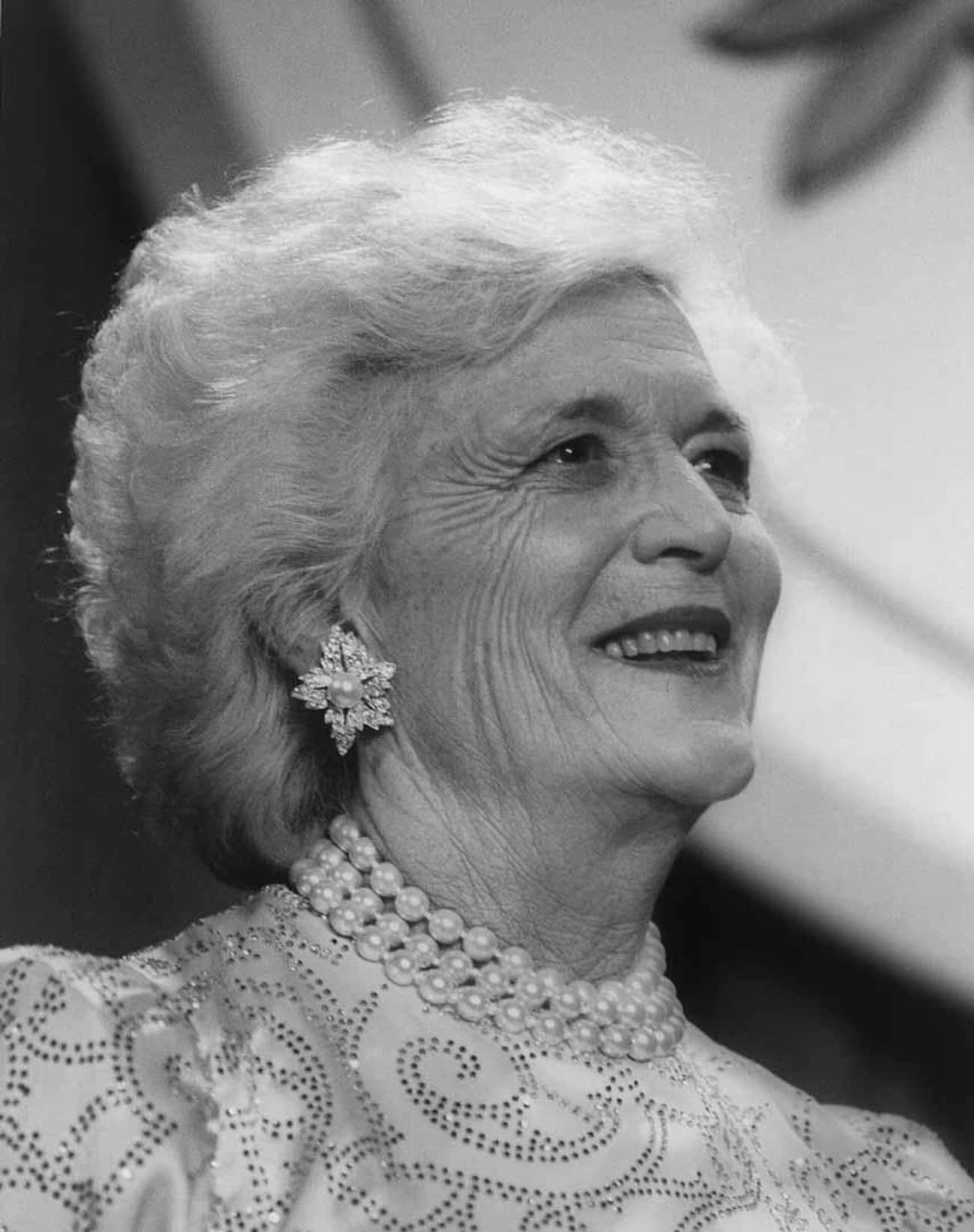 Barbara Bush is listed (or ranked) 4 on the list Famous People Born in 1925
