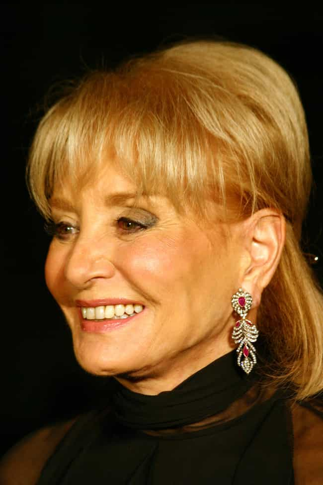Barbara Walters is listed (or ranked) 3 on the list Famous Friends of Donald Trump