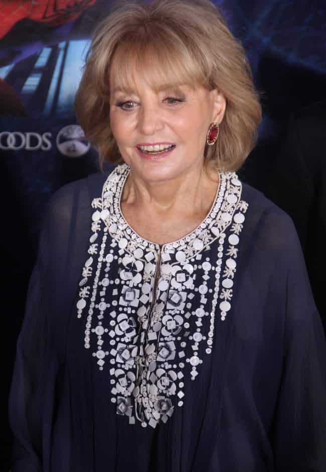 Barbara Walters is listed (or ranked) 4 on the list Famous People With Lisps
