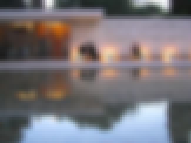 Barcelona Pavilion is listed (or ranked) 2 on the list List of Famous Barcelona Buildings & Structures