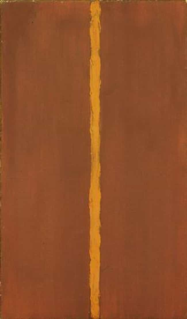 Barnett Newman is listed (or ranked) 2 on the list Famous Color Field Artists
