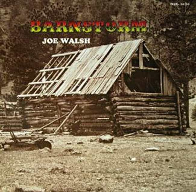 Barnstorm is listed (or ranked) 4 on the list The Best Joe Walsh Albums of All Time