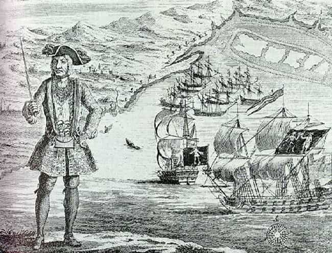 Bartholomew Roberts is listed (or ranked) 3 on the list Famous Male Pirates