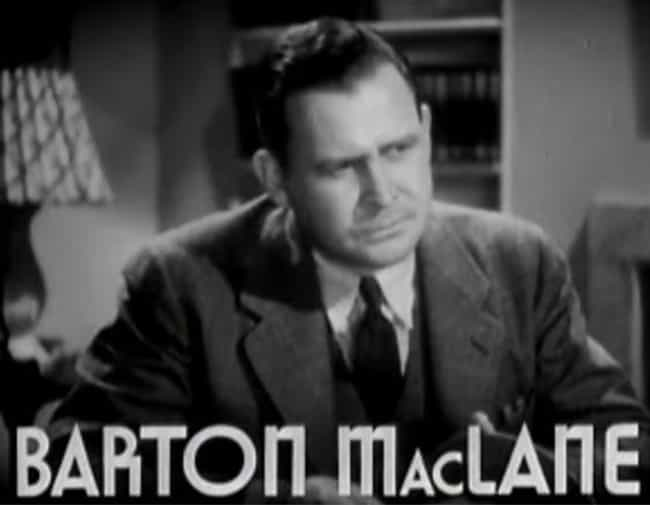 Barton MacLane is listed (or ranked) 2 on the list I Dream of Jeannie Cast List
