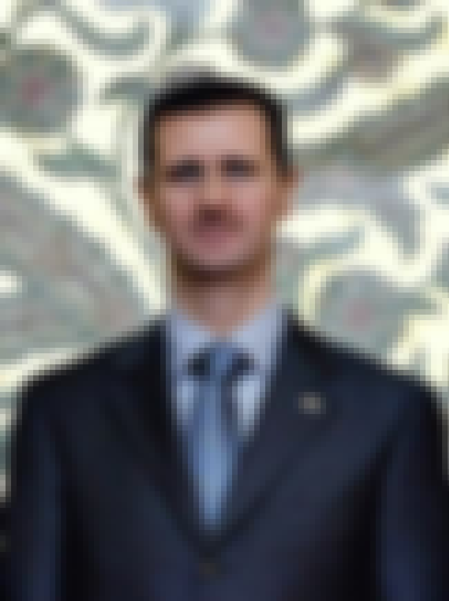Bashar al-Assad is listed (or ranked) 1 on the list List of Famous Ophthalmologists