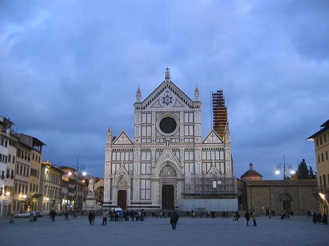 Basilica Of Santa Croce Florence