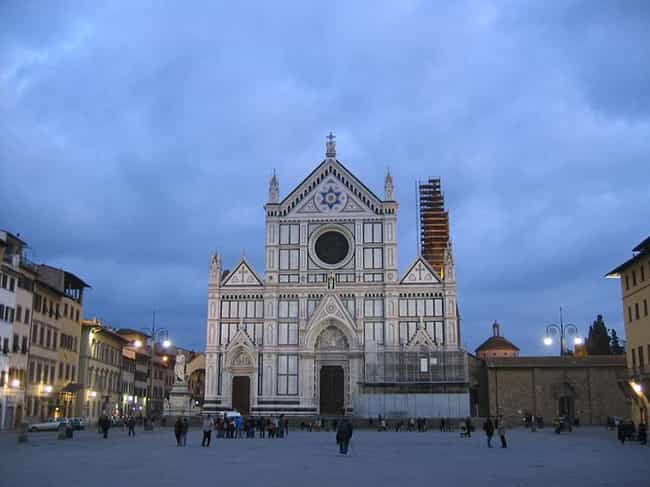 Basilica of Santa Croce,... is listed (or ranked) 1 on the list Famous Neo-gothic architecture buildings