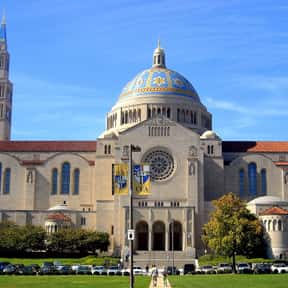 Basilica of the National Shrin is listed (or ranked) 12 on the list Famous Romanesque Revival Architecture Buildings