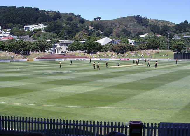 Basin Reserve is listed (or ranked) 2 on the list List of Famous Wellington Buildings & Structures