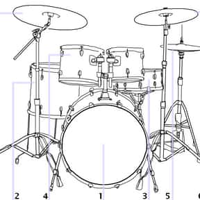 Bass drum is listed (or ranked) 3 on the list Instruments in the Percussion Family