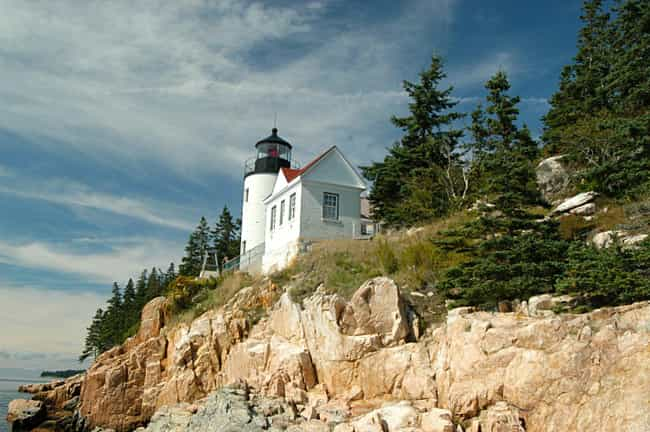 Bass Harbor Head Light is listed (or ranked) 4 on the list The Most Awe-Inspiring Lighthouses in the World