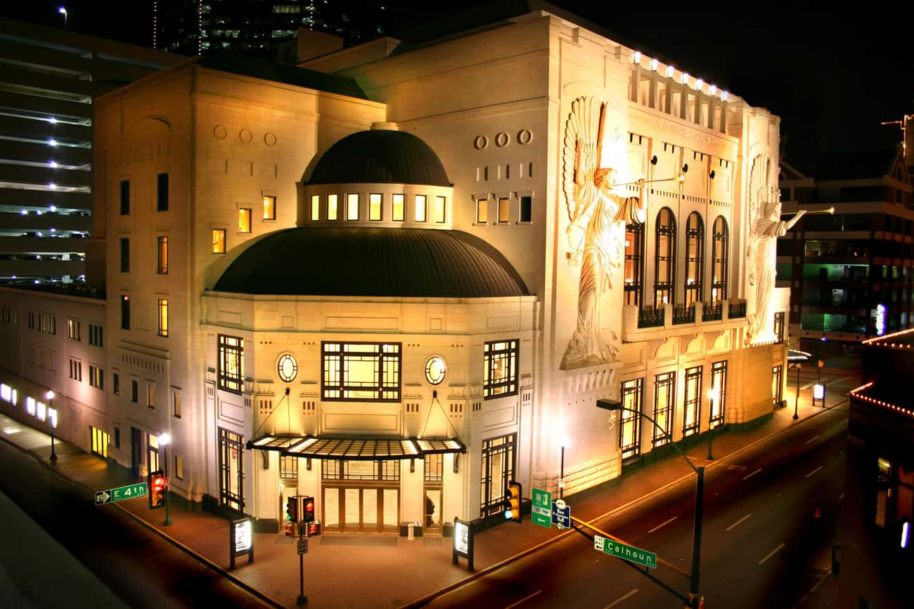 Bass Performance Hall is listed (or ranked) 3 on the list List of Famous Fort Worth Buildings & Structures