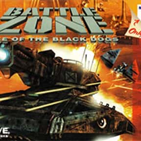 Battlezone: Rise of the Black  is listed (or ranked) 21 on the list List of All Strategy Video Games
